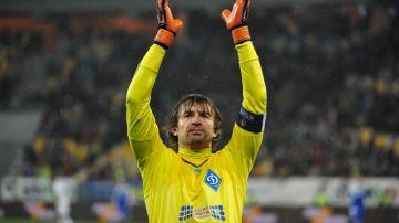 Oleksandr Shovkovsky, entrenador de porteros de Ucrania
