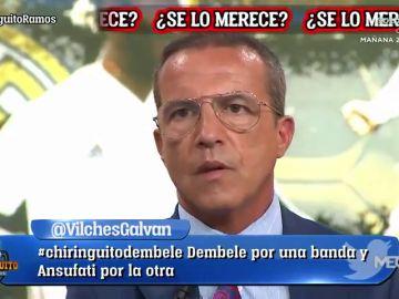 Cristóbal Soria pide el Balón de Oro para Sergio Ramos y Edu Aguirre se enzarza con él