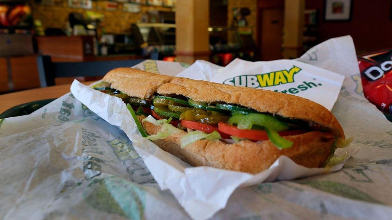 Un bocadillo de Subway
