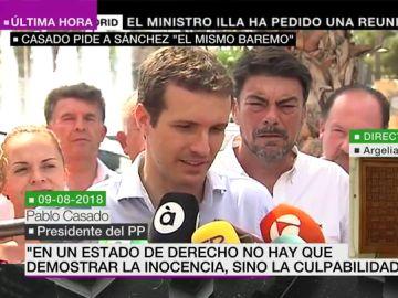 Pablo Casado en 2018