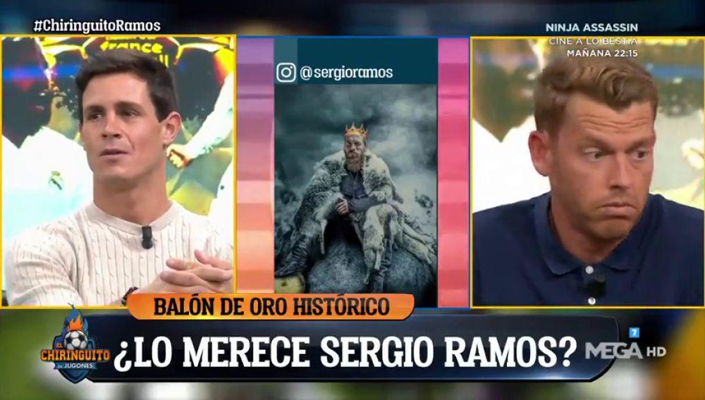 """Jota Jordi hace estallar a la bancada madridista: """"¿Ramos Balón de Oro? Esto es de risa"""""""