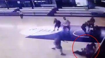 Agresión a un árbitro en un partido de baloncesto