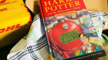 El libro de Harry Potter encontrado en la casa de un profesor jubilado