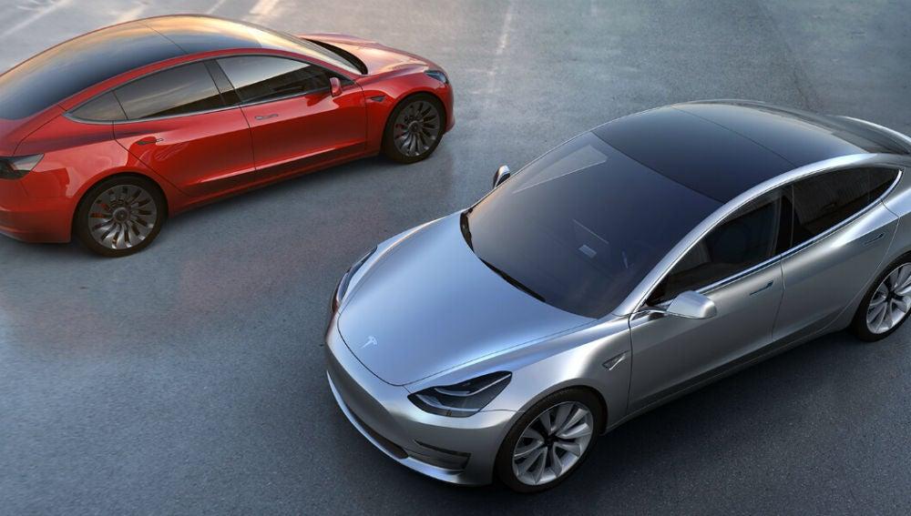 El Model 3 es el coche eléctrico más buscado en Google, además del más vendido