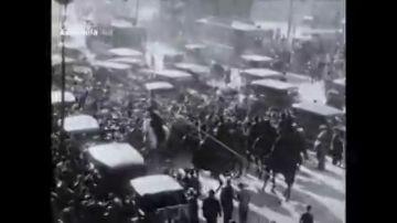 14 minutos más de nuestra historia: hallan una cinta con imágenes inéditas de la Proclamación de la II república en Madrid