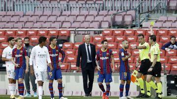 Munuera muestra amarilla a Jordi Alba