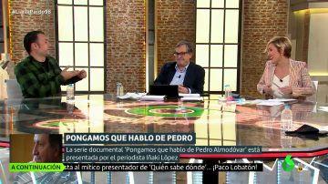 El guiño de Cristina Pardo a Iñaki López y Andrea Ropero