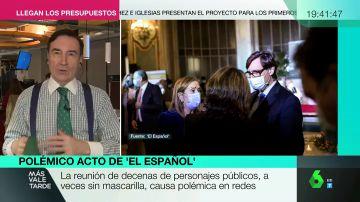 """Pedro J. Ramírez responde a las críticas por el acto de 'El Español': """"Se cumplieron todas las normas estrictamente"""""""