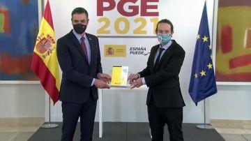 Entran en vigor los Presupuestos Generales del Estado 2021, los primeros del Gobierno de Sánchez