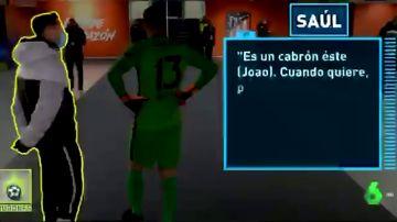 """Saúl y Oblak alucinan con Joao Félix: """"Es un cabr**, cuando quiere..."""""""