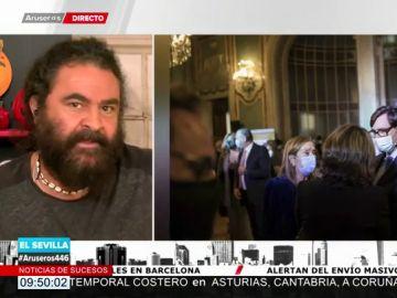 El enfado de El Sevilla con la fiesta de Pedro J. con políticos