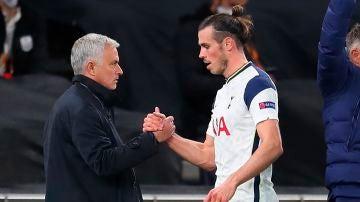 Mourinho y Bale