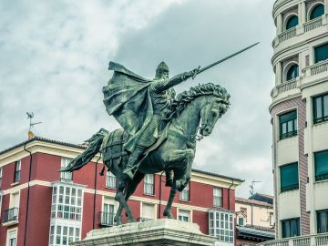 Estatua del Cid, Burgos