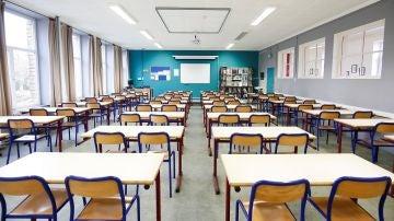 Imagen de archivo de una clase en Bélgica