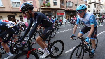 Chris Froome, en la Vuelta a España 2020