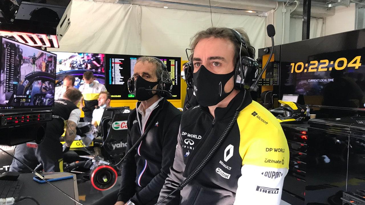 Fernando Alonso y Alain Prost