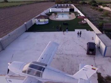La impresionante finca de un presunto narco granadino construida a imagen y semejanza de la de Pablo Escobar en Granada