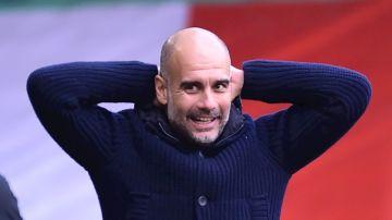 Pep Guardiola, en un partido