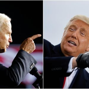 Joe Biden y Donald Trump, candidatos a la Casa Blanca