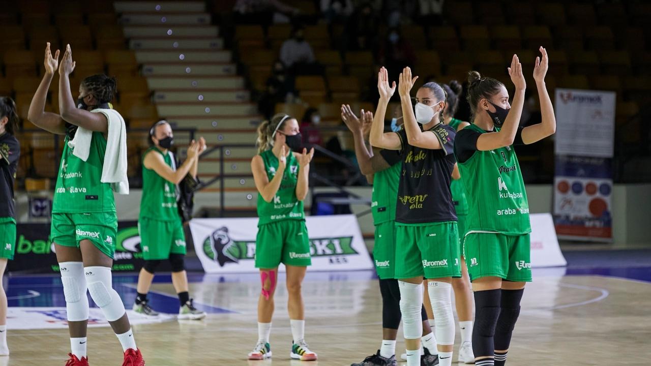 Las jugadoras del Kutxabank Araski