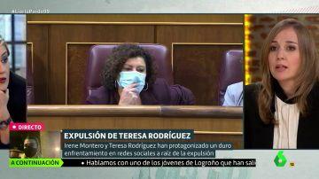 """Tania Sánchez, sobre Podemos: """"Algo ha de reflexionar quien ha ido expulsando gente de ese espacio"""""""