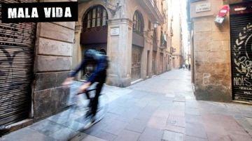 Imagen del casco antiguo de Barcelona