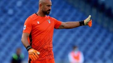 Pepe Reina, portero de la Lazio