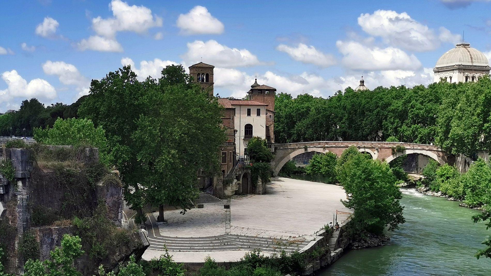 Tiber, Roma