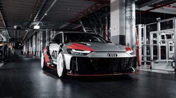 No parece que vayamos a verlo en las calles, pero el RS 6 GTO Concept se ha mostrado al mundo