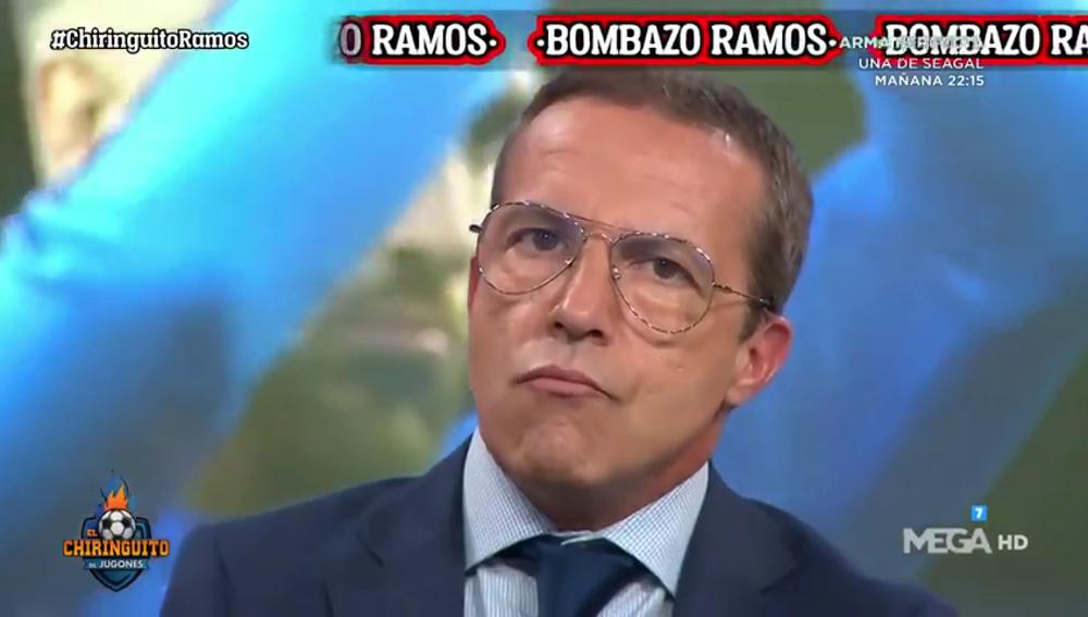 """Cristóbal Soria: """"Sergio Ramos está fuera del Real Madrid al 80%"""""""
