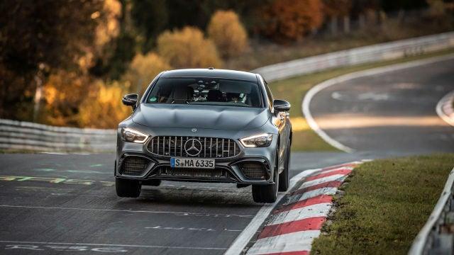 Con esta nueva vuelta, Mercedes arrebata el mejor crono del segmento a Porsche