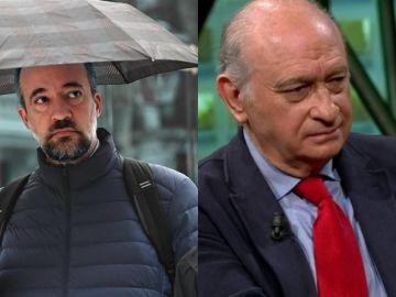 Francisco Martínez y Jorge Fernández Díaz en imágenes de archivo