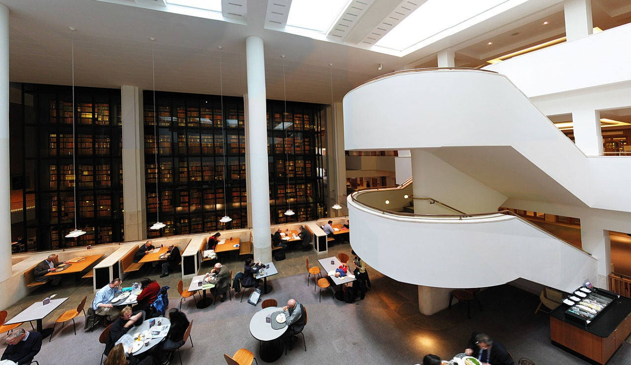 Interior Biblioteca Británica