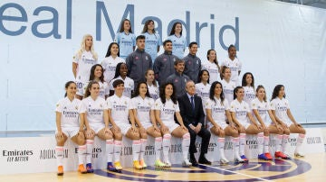 Primera foto oficial del Real Madrid femenino