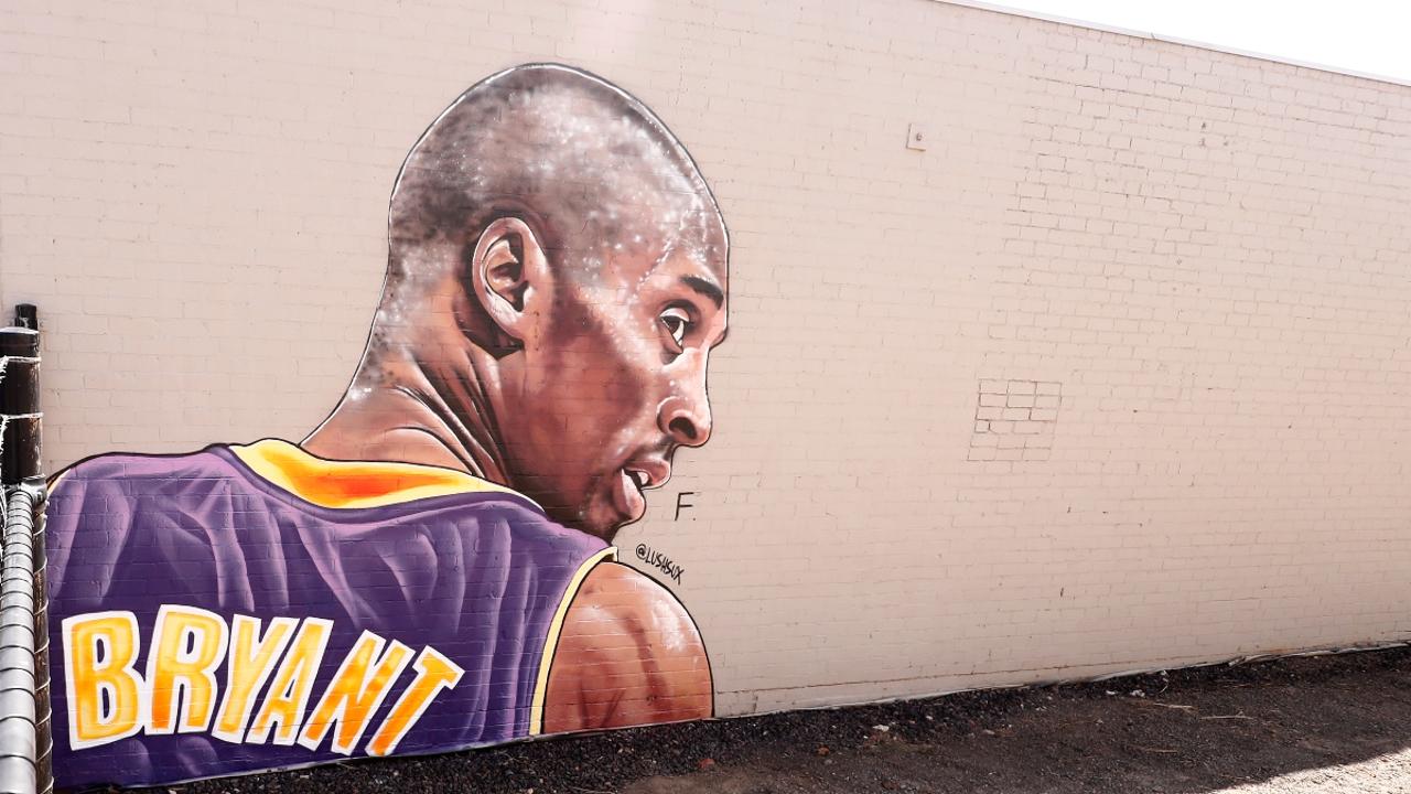 Mural de Kobe Bryant