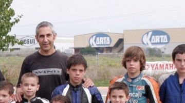 Chicho Lorenzo, con Joan Mir
