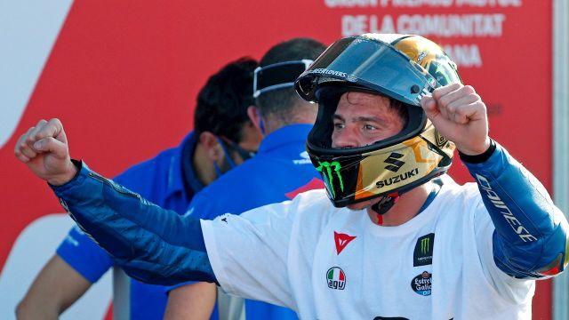 Joan Mir, tras ganar su primer Mundial de MotoGP
