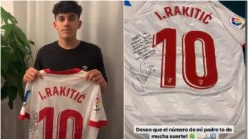 José Antonio Reyes agradece a Rakitic su emotivo regalo