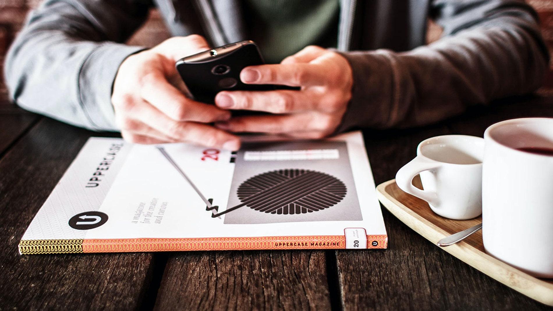 Utilizando un smartphone