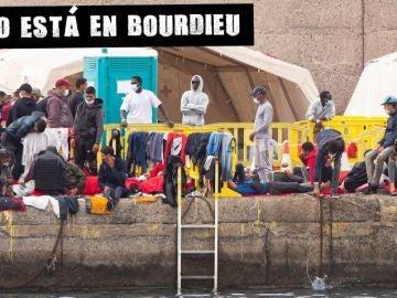 Migrantes en Arguineguín