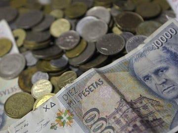 ¿Todavía tienes pesetas? Esta es tu última oportunidad para cambiarlas por euros