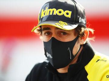 Fernando Alonso en el GP de Imola