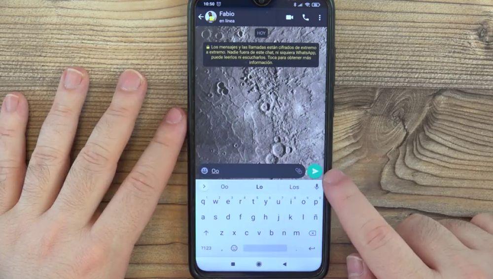 WhatsApp: Cómo enviar mensajes transparentes