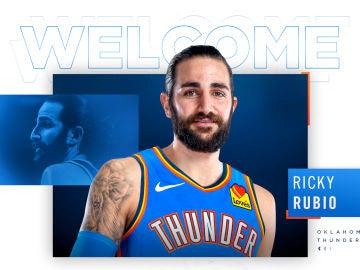 Ricky Rubio, nuevo base de los Thunder