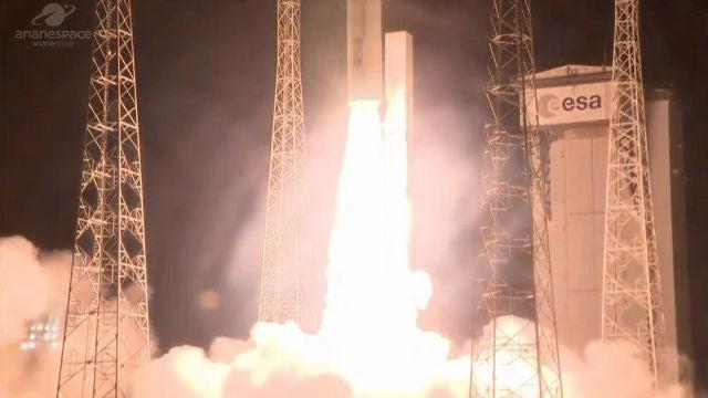 Fracasa el lanzamiento del satelite espanol Ingenio y se pierde la mision
