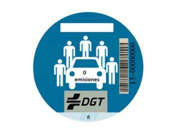 Con esta nueva etiqueta también se señalizará la calificación ambiental del vehículo