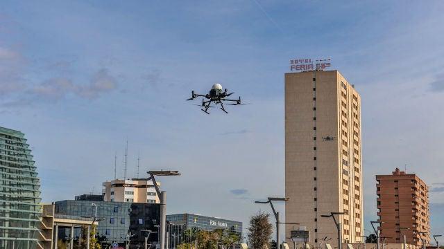 Drones para transportar material sanitario en tiempos de pandemia