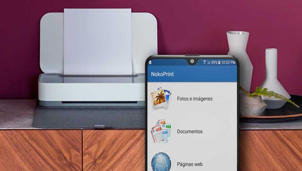 Imprime desde tú móvil sin necesidad de conexión Wi-fi