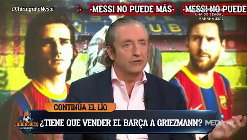 """Pedrerol: """"Si el Barça quiere a Messi, que venda a Griezmann"""""""