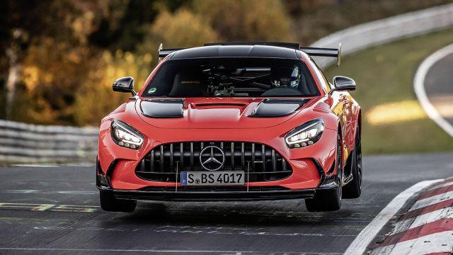 Mercedes-AMG GT Black Series rey de Nordschleife